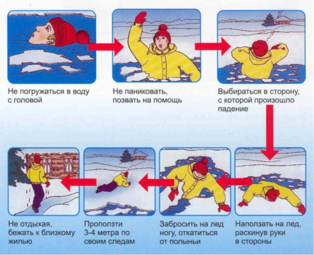 Картинки правила поведения весной